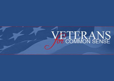Veterans for Common Sense