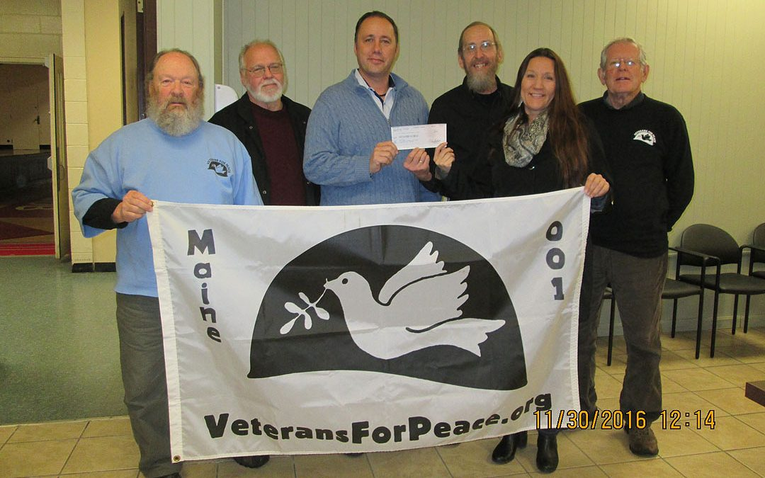 Donation to Penobscot Nation for Standing Rock