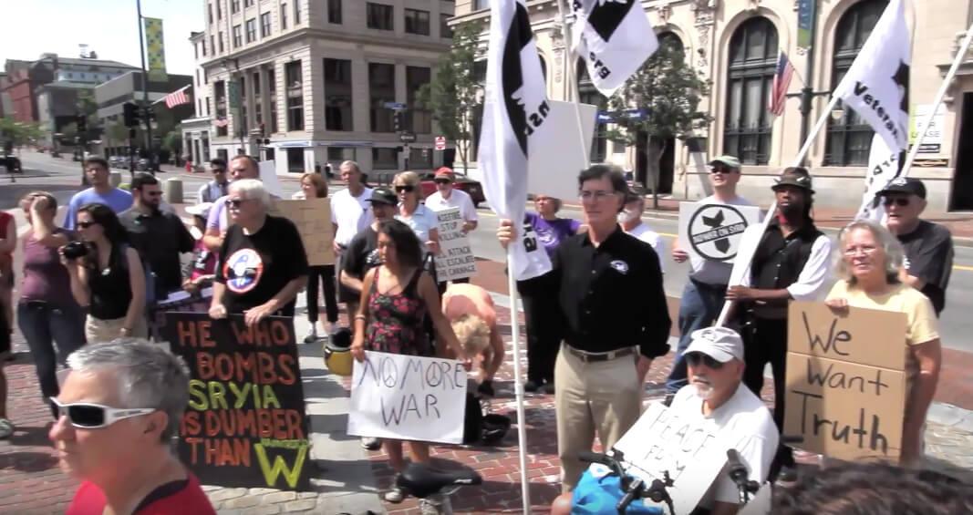 No War in Syria Protest in Portland