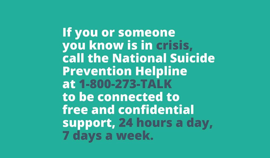 National Suicide Prevention Helpline