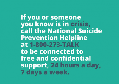 National Suicide Prevention Helpline